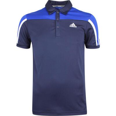 adidas Golf Shirt Sergio Garcia Celebration Polo Navy LE 2019