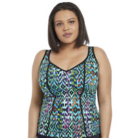 Fantasie 7111 Elomi Tribal Instinct Tankini Top 7110 Black 7110 Black