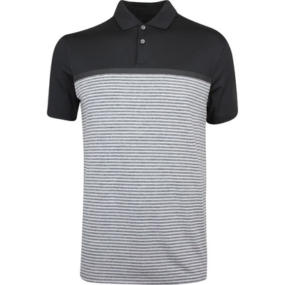 Nike Golf Shirt TW Vapor Stripe Black SS19