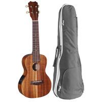 Islander AC-4EQ Electro-Acoustic Concert Ukulele + Free Padded Bag