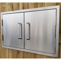 Draco Grills Stainless Steel Build-in Outdoor Kitchen Double door