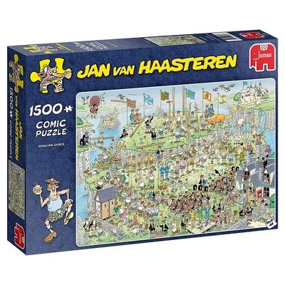 Jumbo Jan Van Haasteren 19088    Highland Games 1500 Piece Jigsaw Puzzle