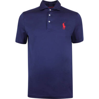 Justin Thomas POLO Golf Shirt Tour Pique French Navy SS19