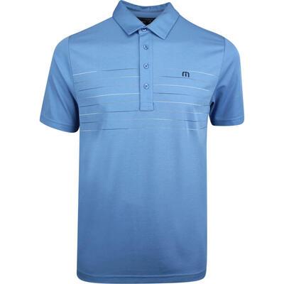 TravisMathew Golf Shirt Good Good Polo Parisian Blue SS19