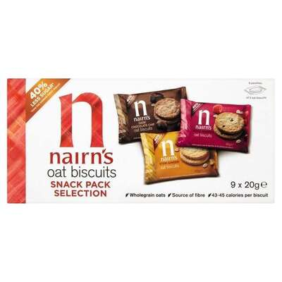 Nairn's Oat Biscuits Snack Pack Selection