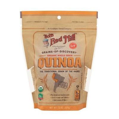 Bobs Red Mill Organic White Quinoa Grain 369g