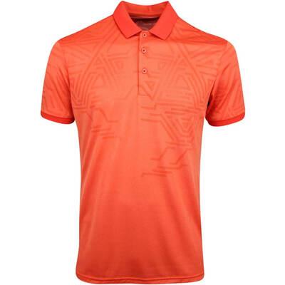 Galvin Green Golf Shirt Merell Rusty Orange AW19