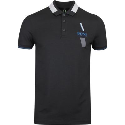 BOSS Golf Shirt Paule Pro Black FA19