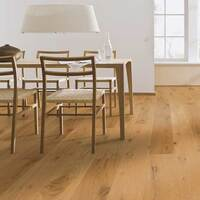 Meister PD200 Longlife Rustic Oak Matt Lacquered 180mm x 13/2.5mm Engineered Parquet Wood Flooring