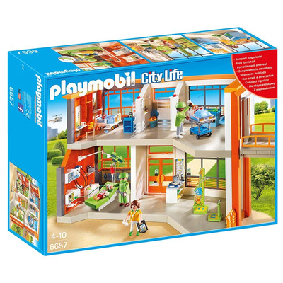 Playmobil Furnished Childrens Hospital