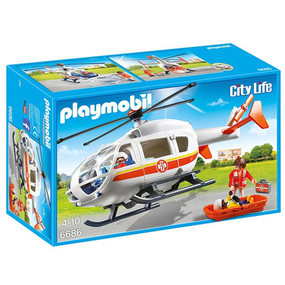 Playmobil Emergency Medical Helicopter