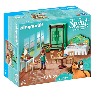 Playmobil DreamWorks Spirit Luckys Bedroom