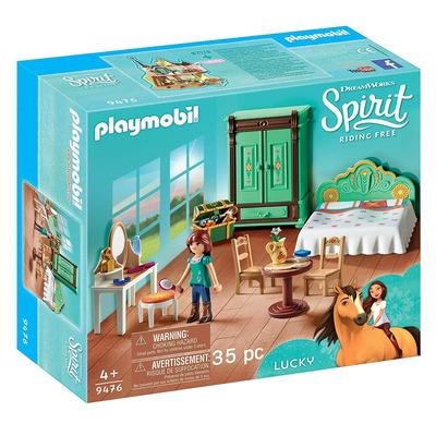 Playmobil DreamWorks Spirit Luckys Bedroom