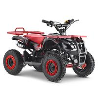 Image of FunBikes Ranger 50cc Red Kids Petrol Mini Quad Bike