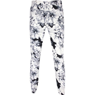 GFORE Golf Trousers Printed Floral Pant Snow SS20