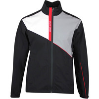 Galvin Green Waterproof Golf Jacket - Apollo - Black - Red AW20