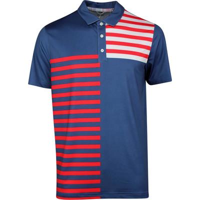 PUMA Golf Shirt Volition Liberty Polo Dark Denim SS20