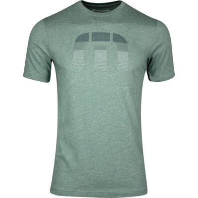 TravisMathew T Shirt Globe Trot Tee Balsam SS20