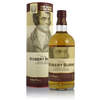 Arran Robert Burns with Glass
