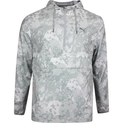 PUMA Golf Jacket TournAMENt Wind Hoodie Quarry Print LE SS20