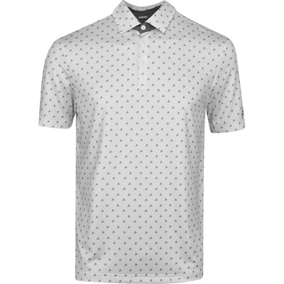 adidas Golf Shirt Ultimate BOS Polo White Grey Three SS20
