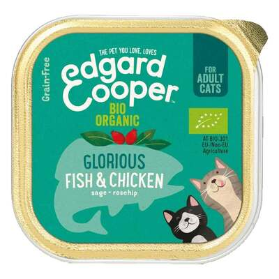 Edgard & Cooper Organic Fish & Chicken for Cats 85g