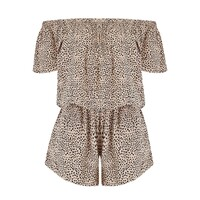 Cap Sleeve Playsuit - Mimosa Latte