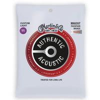 Martin Acoustic Lifespan 2.0 Phosphor Bronze Custom Light Guitar Strings