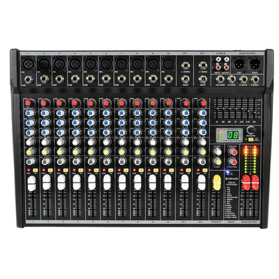 Compact 14 Input Mixing Console with DSP