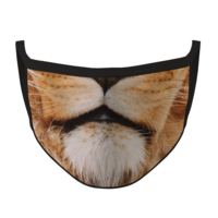 Lion Fabric Face Mask