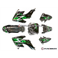 M2R KX110F Carbon Pit Bike Plastics - CRF50 - Fun Bikes & Quads