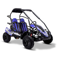 FunBikes GT80 Trail Blazer 200cc Blue Midi Off Road Buggy