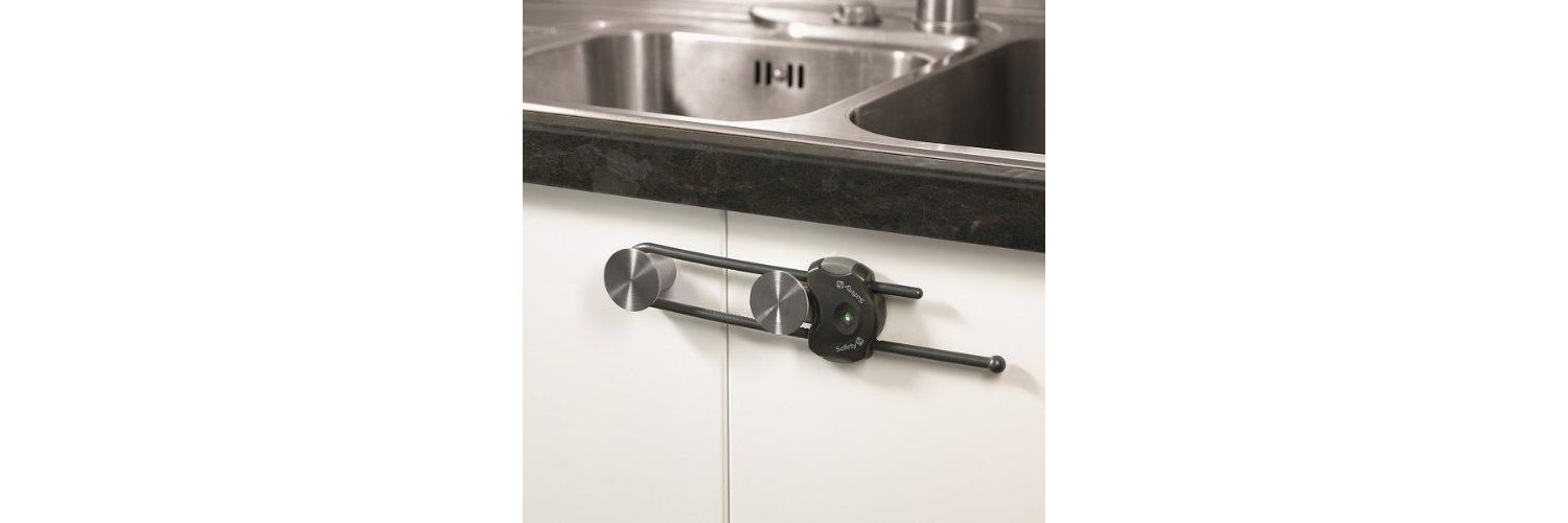 Safety 1st Cabinet Slide Lock - Available in Grey or White