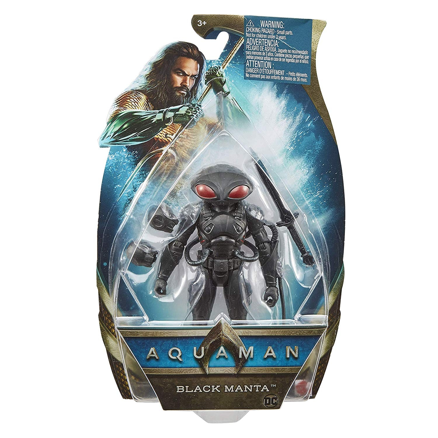 AQUAMAN Movie 6-inch BLACK MANTA Action Figure