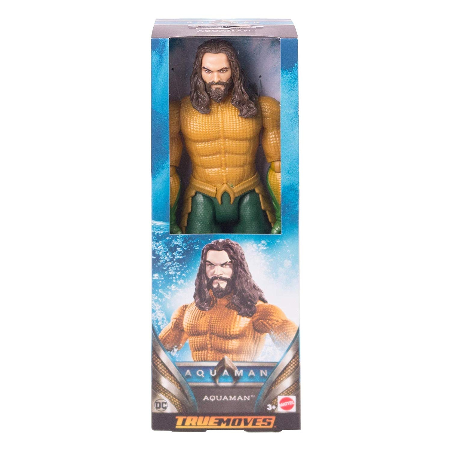 AQUAMAN TRUE-MOVES AQUAMAN 12 Inch Figure