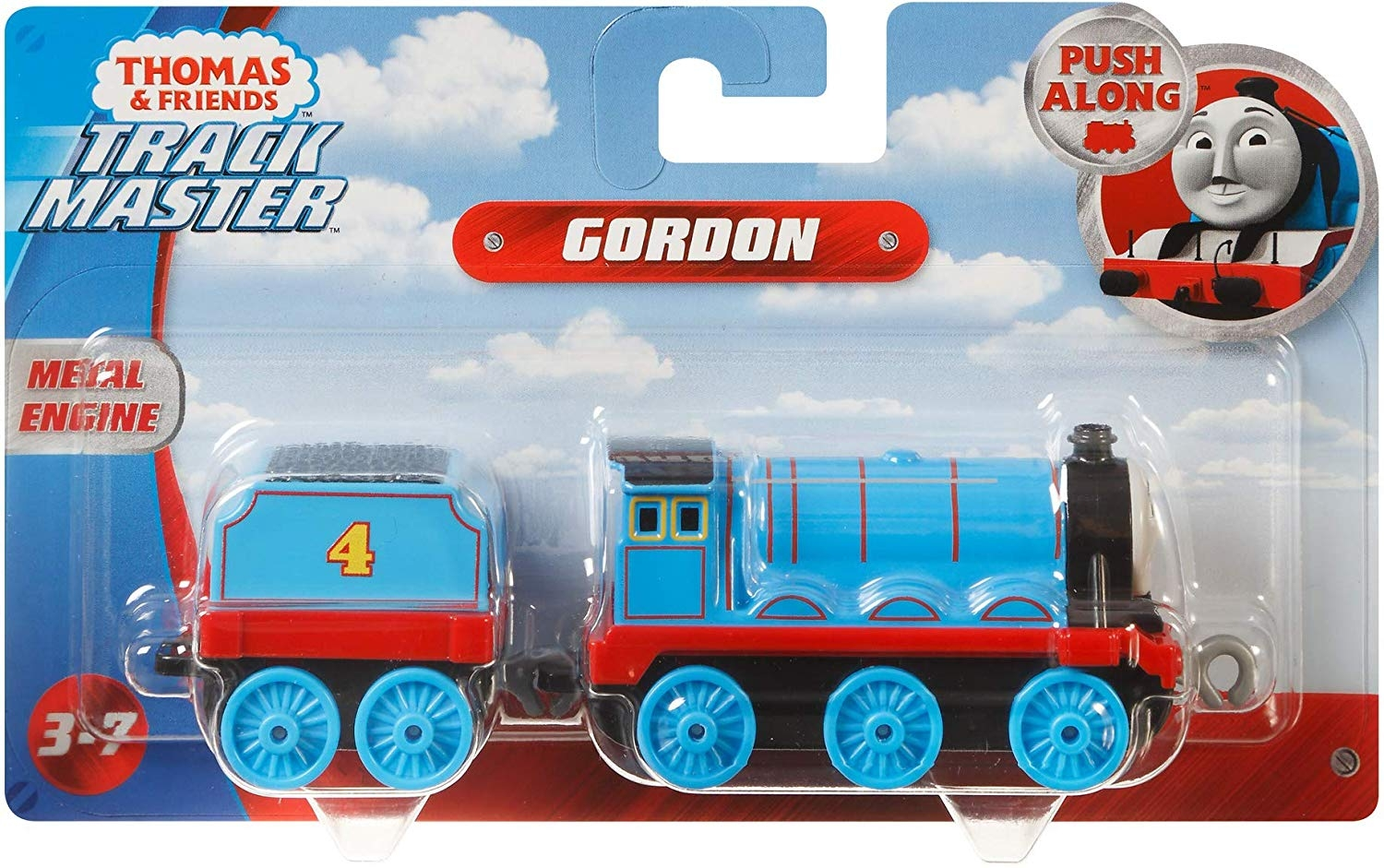 Thomas And Friends Track Master Push Along Gordon Die-cast Metal Engine