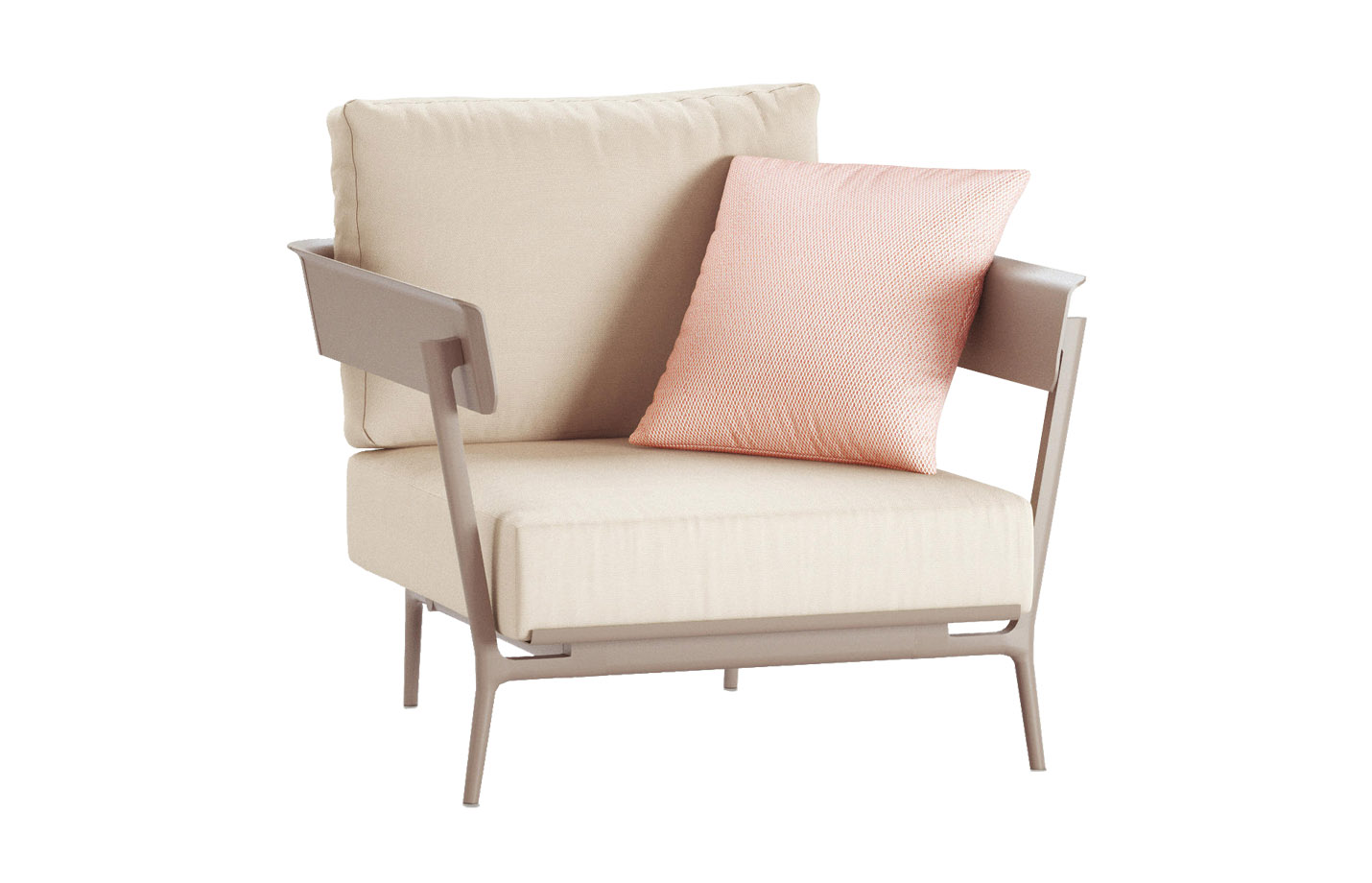 Aikana Armchair By Fast White Solids Linen