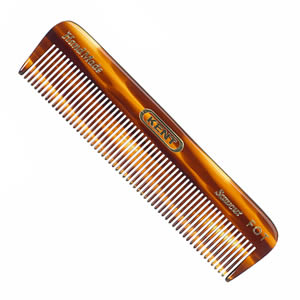 GB Kent FOT Pocket Comb With Tortoiseshell Finish