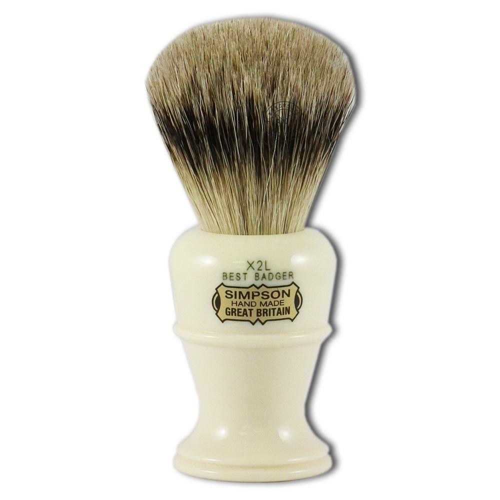 Simpsons Colonel X2L Best Badger Hair Shaving Brush