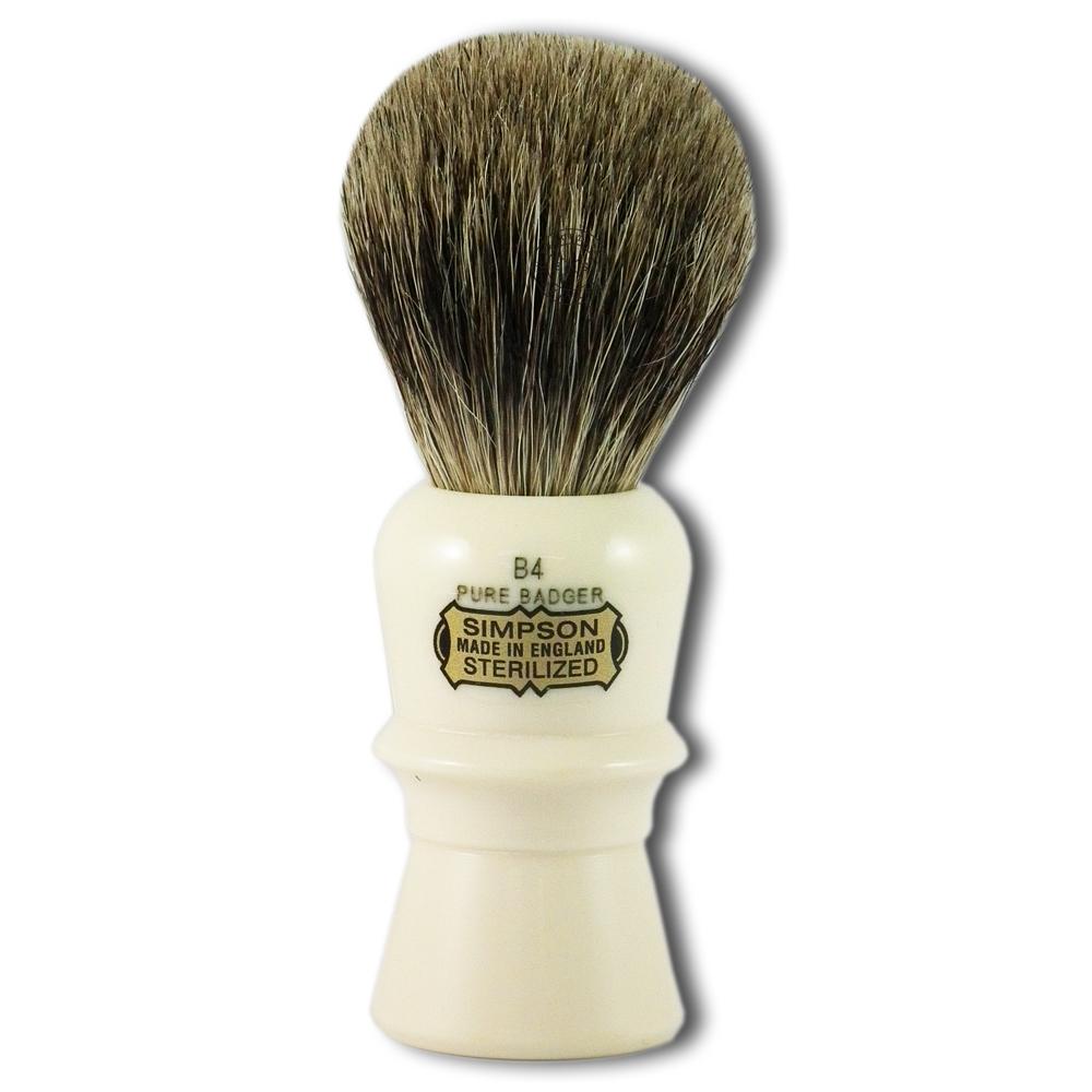Simpsons B4 Beaufort Pure Badger Hair Shaving Brush