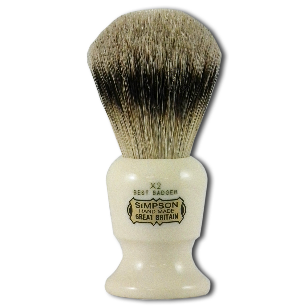 Simpsons Commodore X2 Best Badger Hair Shaving Brush