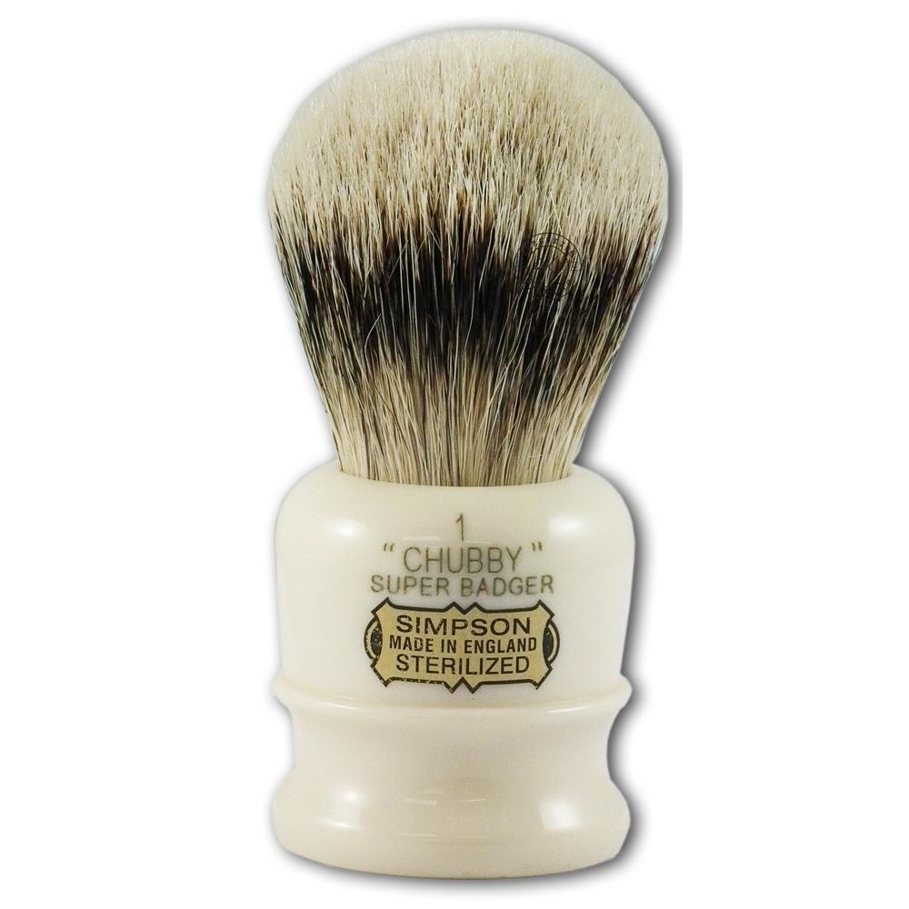 Simpsons Chubby 1 Super Badger Hair Shaving Brush