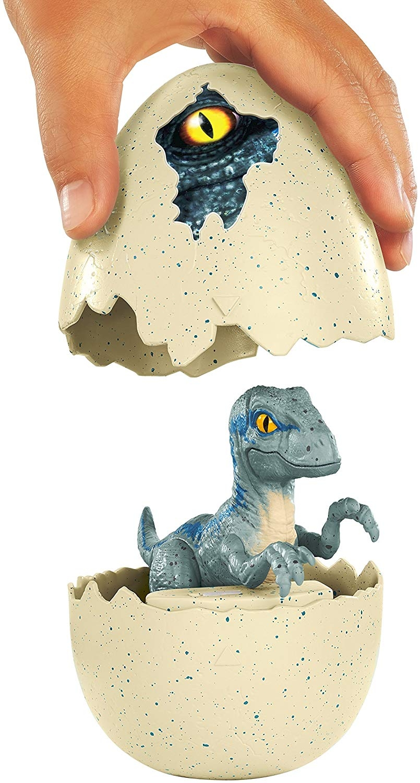Jurassic World Hatch N Play Dinos Velociraptor Playset