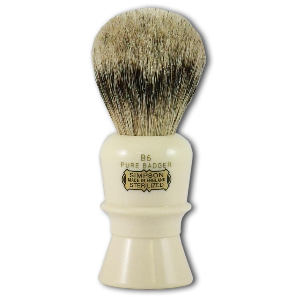 Simpsons B6 Beaufort Pure Badger Hair Shaving Brush