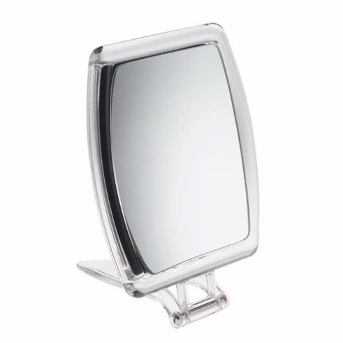 10x Magnification Acrylic Folding Travel Mirror