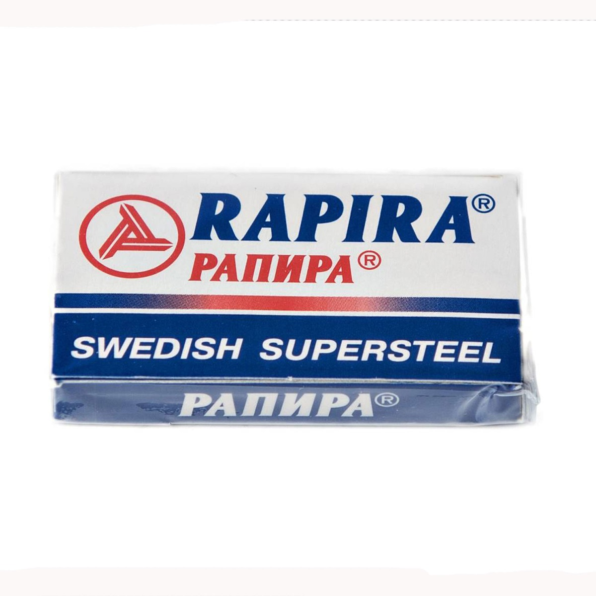 Rapira Swedish Super Steel Safety Razor Blades 5 Pack