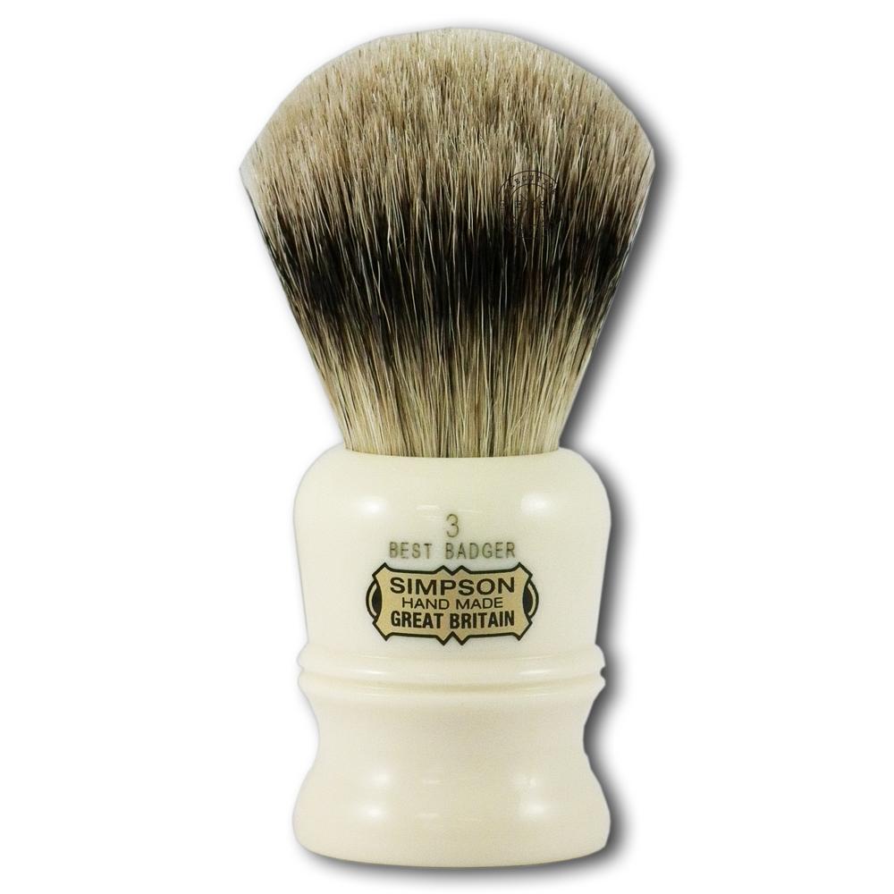Simpsons Duke 3 Best Badger Hair Shaving Brush