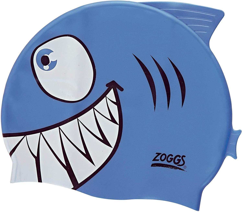 Kids Character Swimming Cap 6-14 years - Choose your design - Blue Shark