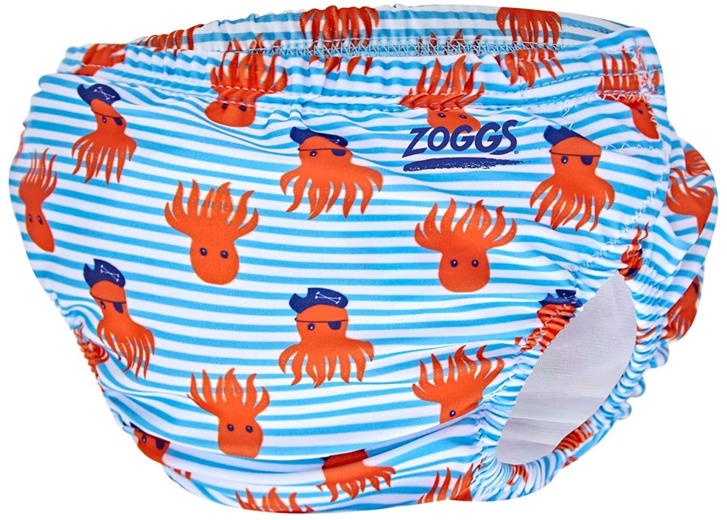 Zoggs Adjustable Reusable Baby Swim Nappy one size 3 to 24 mths - Choose your design - Octo Pirate