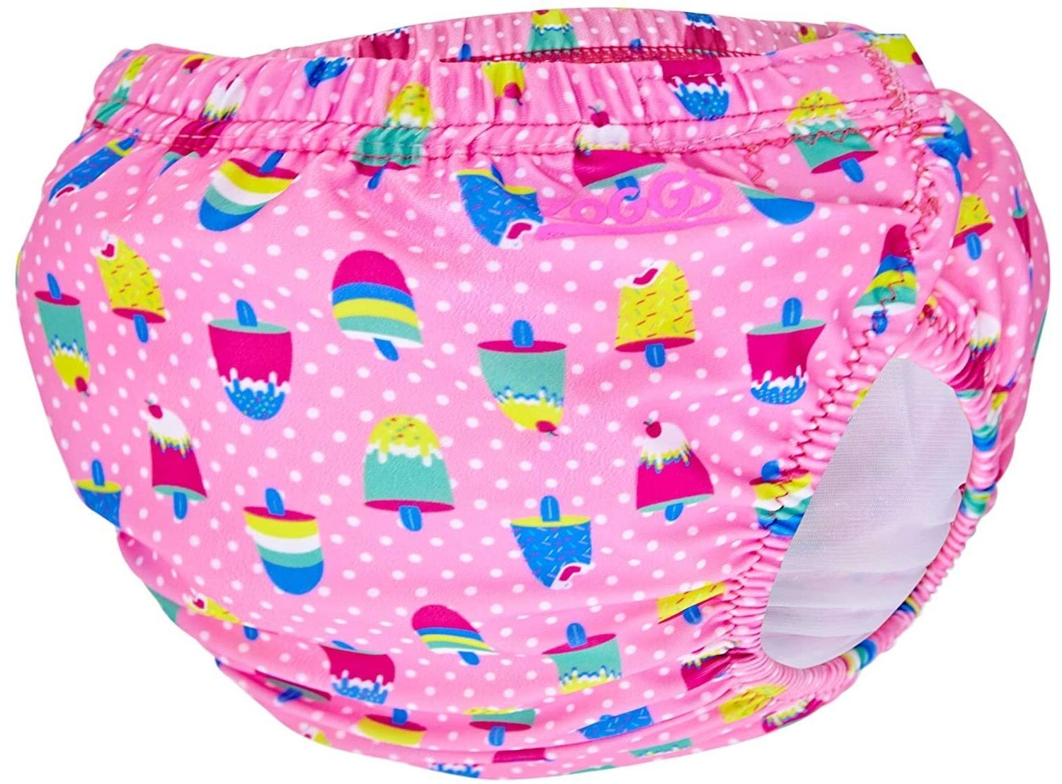 Zoggs Adjustable Reusable Baby Swim Nappy one size 3 to 24 mths - Choose your design - Ice Creams